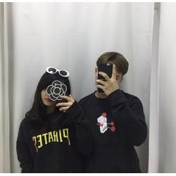 Áo hoodie nỉ đen pirates