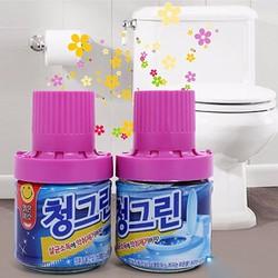Chai Thả Tẩy Bồn Cầu Nắp Tím Hương Lavender Thơm Ngát Từ Hàn Quốc