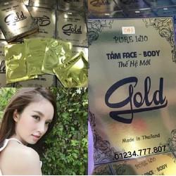 Tắm Siêu Trắng Face và Body Gold
