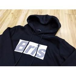 Áo hoodie nỉ đen Bris