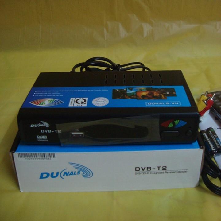 Đầu thu truyền hình DVB T2 Dunals 2