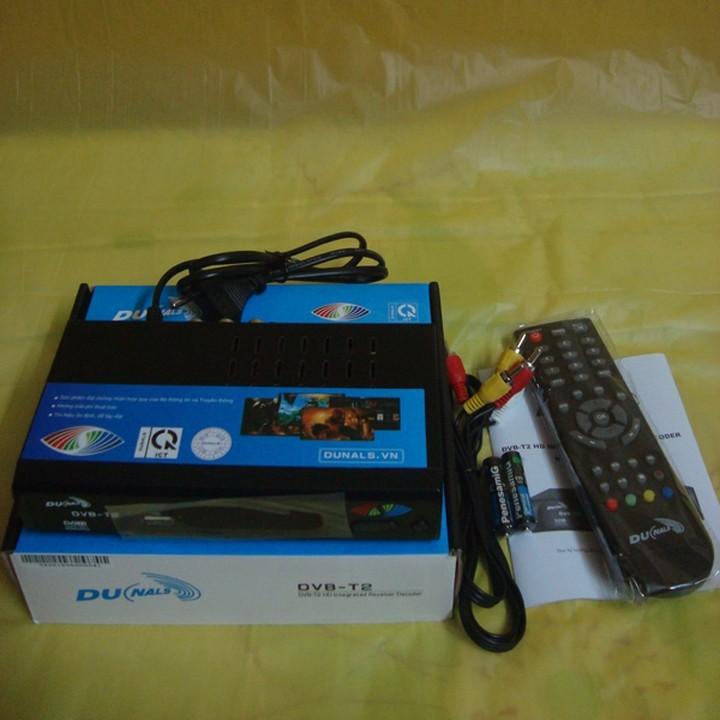 Đầu thu truyền hình DVB T2 Dunals 3