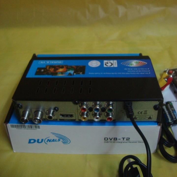 Đầu thu truyền hình DVB T2 Dunals 4