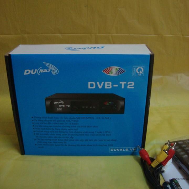 Đầu thu truyền hình DVB T2 Dunals 5