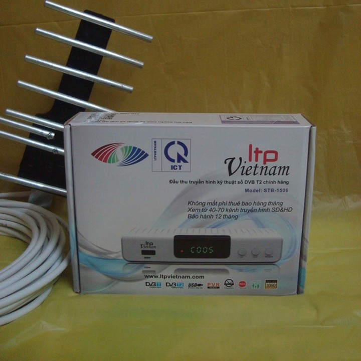 Đầu thu truyền hình DVB T2 LTP 2