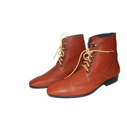 Giày boot da bò thật. BH: 12 tháng.MS : B75