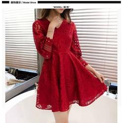Đầm ren xoè cao cấp - hàng nhập Quảng Châu
