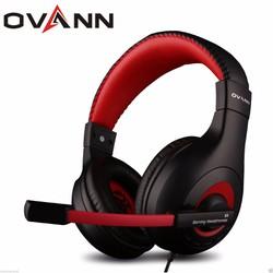 Tai nghe chụp tai Ovann X4 Đen đỏ