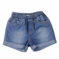 Quần jeans bé gái ngắn xăn lai bạc ống cho bé từ 1-5 tuổi