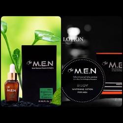 Combo Serum Va Kem Body Lition The Men Chinh Hang