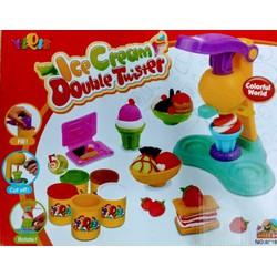 Thoả sức sáng tạo với bộ đồ chơi đất nặn làm kem