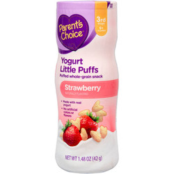 Bánh Ăn Dặm Parents Choice Vị Sữa Chua Dâu