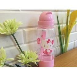 Bình nước họa tiết Hello Kitty- BN005