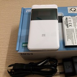 Bộ phát Wifi USB từ sim 3G tốc độ cao ZTE MF63 chính hãng