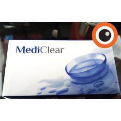 Kính áp tròng không màu MediClear - HSD 03 Tháng