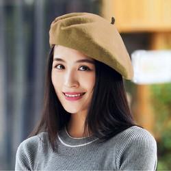 Mũ Nồi Nón Nữ Nấm Dạ Nỉ Bere Beret Thời Trang Hàn Quốc Chất Xịn ZENKO