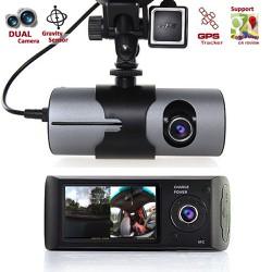 CAMERA HÀNH TRÌNH X3000 Camera ghi hình cùng lúc trước và trong xe