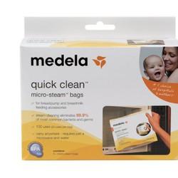 Túi tiệt trùng bình sữa Medela Mỹ