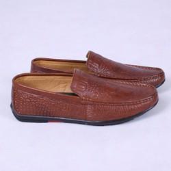 Giày lười vân cá sấu thời trang siêu đẹp