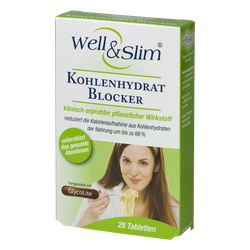 Thực phẩm chức năng Well Slim Giảm hấp thụ tinh bột, 18 gói