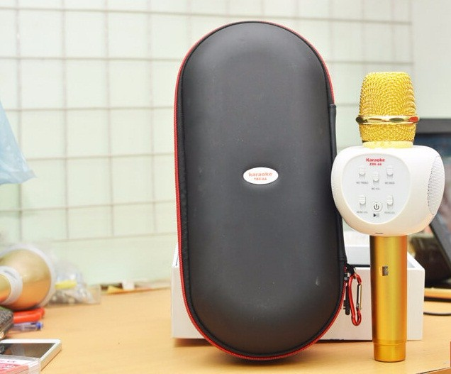 Micro karaoke bluetooth ZBX-66 loa 3 trong 1 3