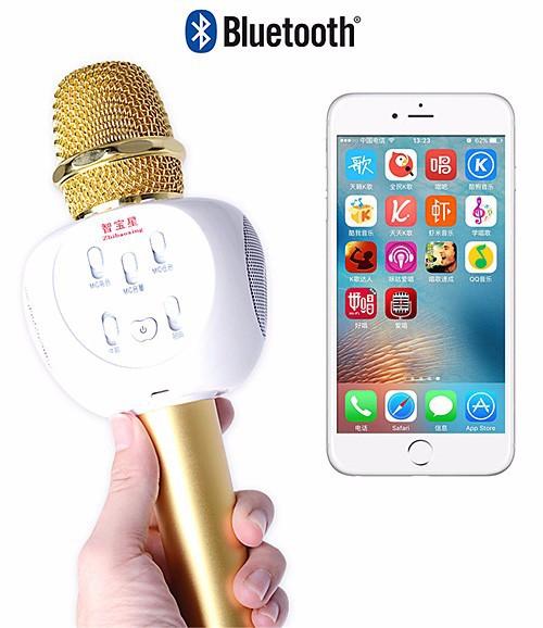 Micro karaoke bluetooth ZBX-66 loa 3 trong 1 7