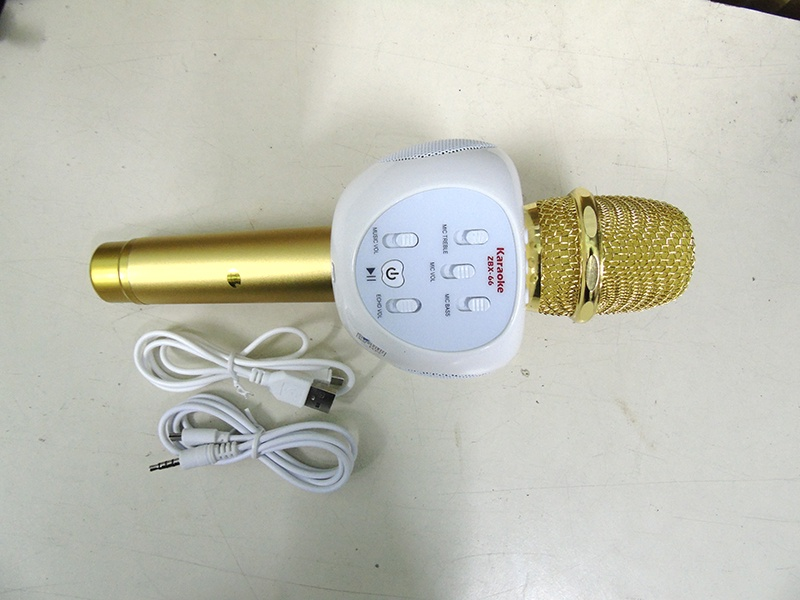 Micro karaoke bluetooth ZBX-66 loa 3 trong 1 9