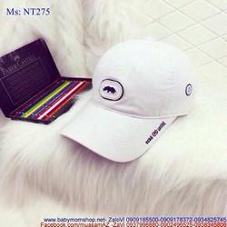 Nón lưỡi trai logo tê giác nổi mang vẻ nam tính NT275