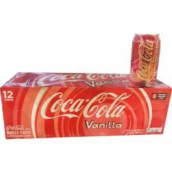 Nước ngọt Mỹ Coca Cola Vanila - thùng 12 lon - 355ml- lon