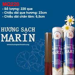 Hương sạch cao cấp MARIN 220 que dành cho chung cư
