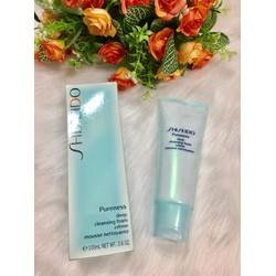 Sữa rửa mặt trị mụn Shiseido Pureness Deep Cleansing