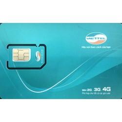Sim Viettel 4G miễn phí 1 năm internet không nạp tiền