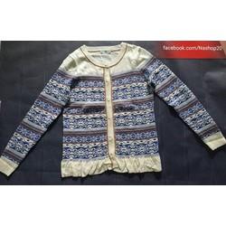 Áo len họa tiết cho mùa đông ấm áp