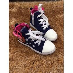 Giày bata cổ cao thời trang cho bé gái