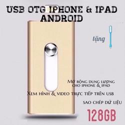[CHÍNH HÃNG] USB OTG IPHONE 128GB IOS và Android - MỞ RỘNG DUNG LƯỢNG