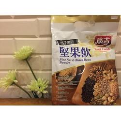 Bột ngũ cốc ăn kiêng từ hạt thông và bột đậu đen Kugi Foods - TP019