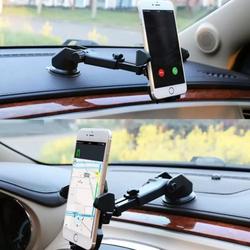 Giá đỡ kẹp điện thoại trên xe hơi kéo dài, thu hẹp 360 độ cao cấp - AD