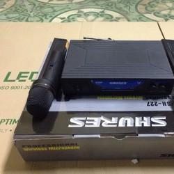 Micro không dây Sh-227 mic cầm tay không dây hát karaoke