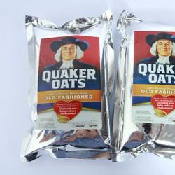 Gói 1KG Bột Yến Mạch Quaker Oats Nhập Khẩu Từ Mỹ