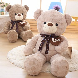 Thú bông gấu ôm tim love 90cm