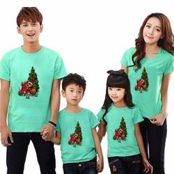Áo gia đình cây thông noel