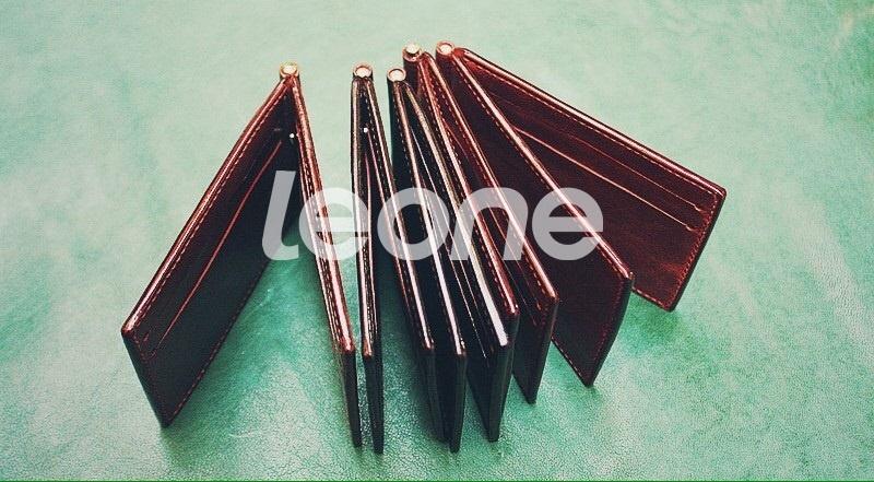Ví Kẹp Tiền Da Nhập Khẩu - Handmade Cao Cấp SKH009 1