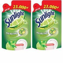 Bộ 2 túi nước rửa chén Sunlight 750g