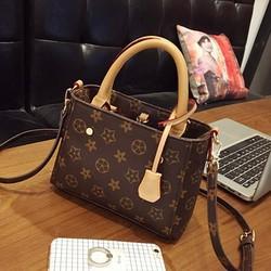 Túi xách nữ họa tiết Button - LN1031