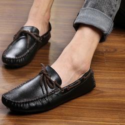 Giày lười nam da bò cao cấp, mẫu mới 2017 ZS050