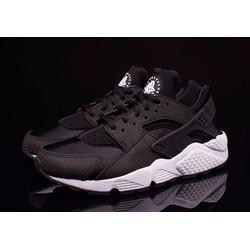 [Greenlife Shop] Giày Thể thao đen đế trắng