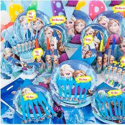 phụ kiện sinh nhật, set 16 món sinh nhật cho bé công chúa ELSA