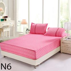 xã hàng 2 ngày bộ drap cotton cao cấp KOREA hồng bi ngọt ngào