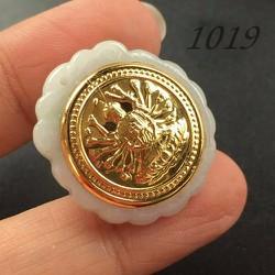 Mặt Dây Chuyền Vàng Ngọc Thạch 24k Quan Âm Nghìn Tay