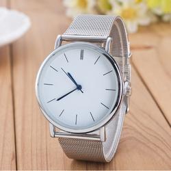 Đồng hồ đeo tay thời trang Cao cấp Unisex U1 Màu Bạc